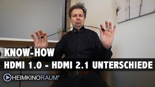 HDMI 2.1 erklärt - Was bedeutet HDMI 2.1 überhaupt und wer braucht es ?!