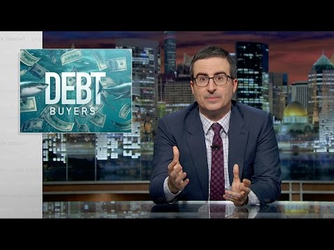John Oliver takes on the debt buying industry