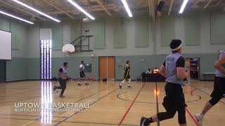 UPTOWN BASKETBALL - Free Agents vs. 3 Point Mafia - Nov. 4th