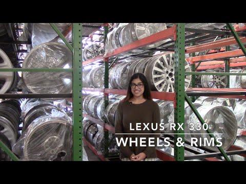 Factory Original Lexus RX 330 Wheels & Lexus RX 330 Rims – OriginalWheels.com