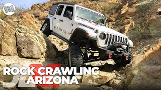 JLX : REUNION - 1st Annual Jeep JL Wrangler Nitto JL-Experience | PART 2 - Rock Crawling in Arizona