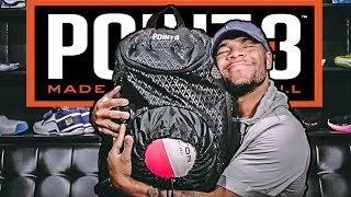 UNBOXING The Worlds BEST BASKETBALL BAG | Point 3 Basketball Gear Is AMAZING!