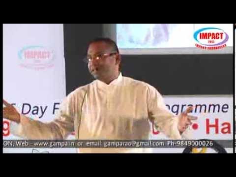 Personality|Balachandra Sunku|TELUGU IMPACT Hyd Dec 2013