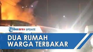 Dua Rumah di Barombong, Makassar Ludes Terbakar, Diduga karena Adanya Arus Pendek Listrik