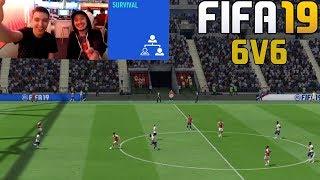 FIFA 19 6 VS 6 SURVIVAL MODE GAMEPLAY !!! ARSENAL VS TOTTENHAM !!!
