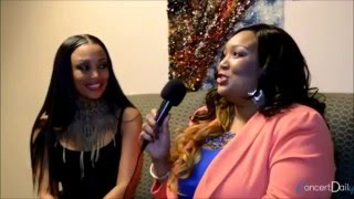 Chanté Moore Talks About How She Discovered Her high notes!