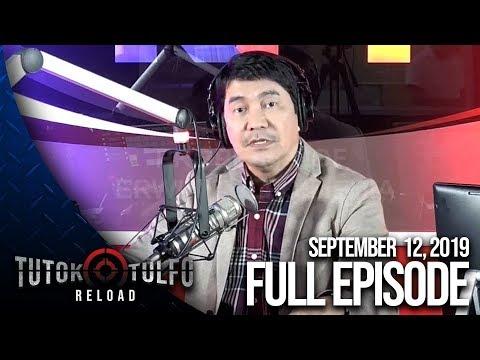 [Erwin Tulfo]  TUTOK TULFO   RELOAD – SEPTEMBER 12, 2019 EPISODE