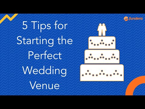 , title : '5 Tips for Starting the Perfect Wedding Venue