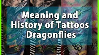 Meaning And History Of Tattoos Dragonflies