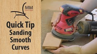 Quick Tip  Sanding Smooth Curves