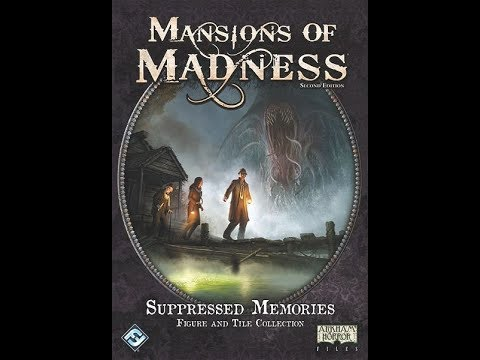 """The Purge: # 1952 Mansions of Madness: Second Edition - Suppressed Memories: Figure and Tile Collection: Do you need more stuff? Is the """"more stuff"""" worth """"mo' money""""?"""