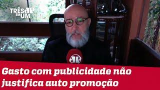 Josias de Souza: Doria, enquanto prefeito, tratou dinheiro público como dinheiro grátis