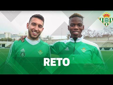Crossbar Challenge   Musonda y Varela   Real Betis...