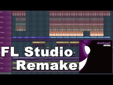 Deadmau5 - Strobe (Radio Edit | FL Studio Remake)