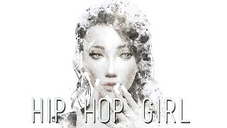 The sims 4 CAS - HIP HOP GIRL + CC LIST