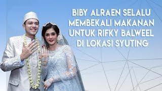Peduli Suami, Biby Alraen Selalu Siapkan Bekal Makanan Untuk Rifky Balweel
