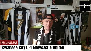 Swansea City 0-1 Newcastle United | Quick thoughts