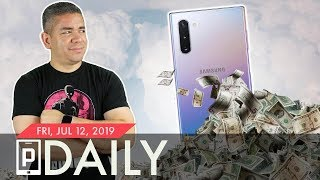 The Samsung Galaxy Note 10's Price Tag