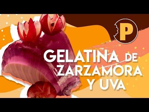 Gelatina de Zarzamora y Uva