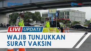 Terapkan PPKM Level 4, 5 Pintu Masuk Kota Pekanbaru Disekat, Pengendara Wajib Tunjukkan Surat Vaksin