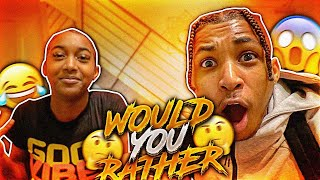 """WOULD YOU RATHER ft. MY 15 YEAR OLD SISTER """"Tee Tee""""!!"""