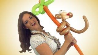 Crazy Monkey Balloon Animal How To!