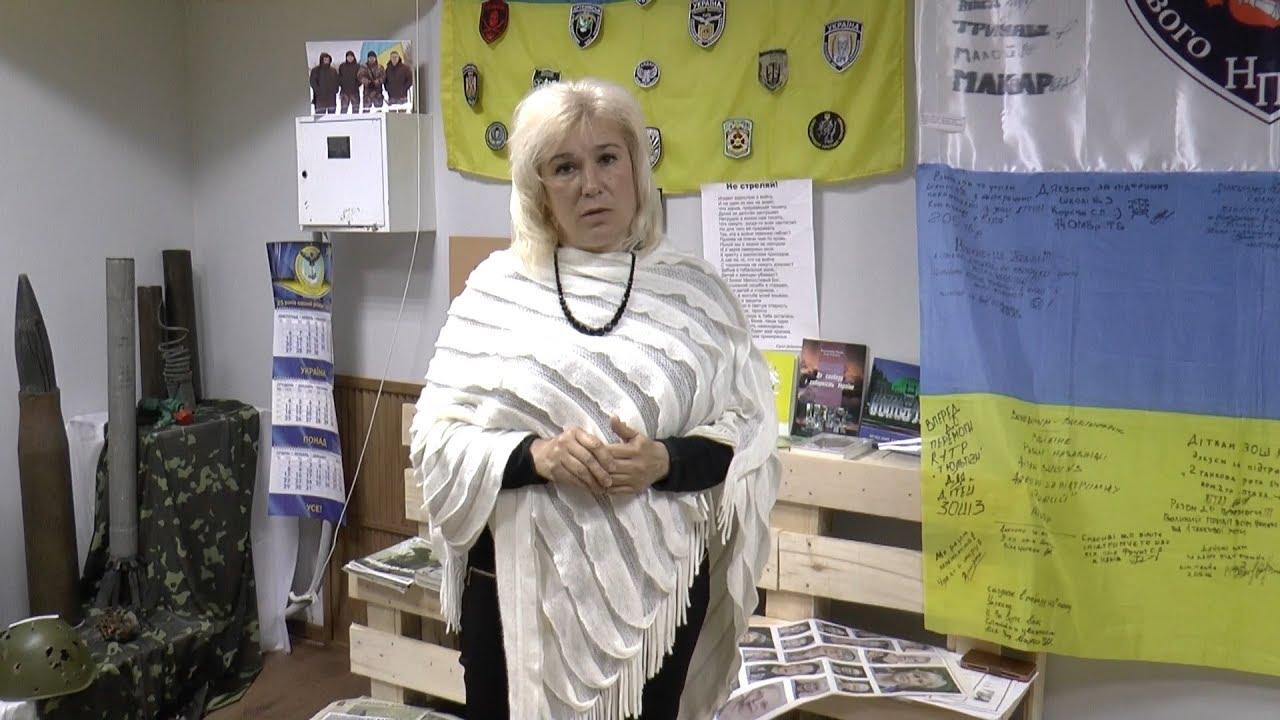 Відео-екскурсія по залі АТО Рубіжанського музею
