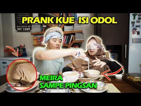 PRANK PACAR : KUE ISI ODOL SE BOTOL ! MUNTAH SAMPE PINGSAN :(
