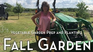 North Texas Fall Vegetable Garden Prep and Planting - Fall Winter Vegetable Garden Zone 8