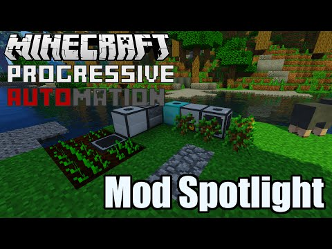 Progressive Automation Mod Spotlight - Multi-tier Machines of Awesomeness