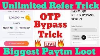 Fanmojo app & loopscoop,🔥 unlimited Redeem ➡️ live proof paytm