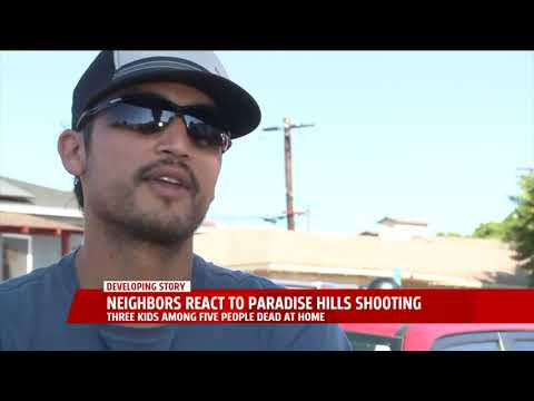 Neighbors React To Paradise Hills Shooting
