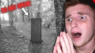 DO NOT OPEN this door in the woods (BEWARE)