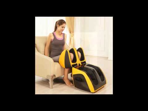 Classic Plus Foot And Calf Massager With Sole Roller