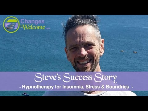 Steve's Success Story - Insomnia, Stress & Boundries