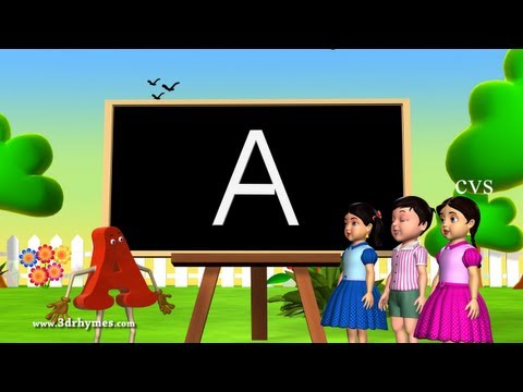 Alphabet Songs | Phonics Songs | ABC Song For Children - 3D Animation Nursery Rhymes Mp3