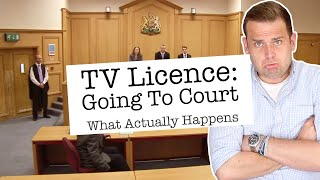 TV Licence: A Day In Court - What Actually Happens
