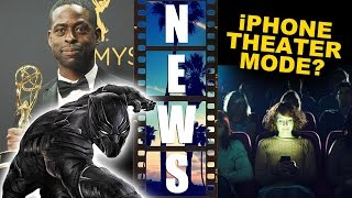 Sterling K Brown cast in Black Panther 2018, iPhone Movie Theater Mode