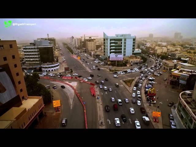 """تصوير جوي للتحويلات المرورية على طريق صلاح الدين الأيوبي """"الستين"""""""