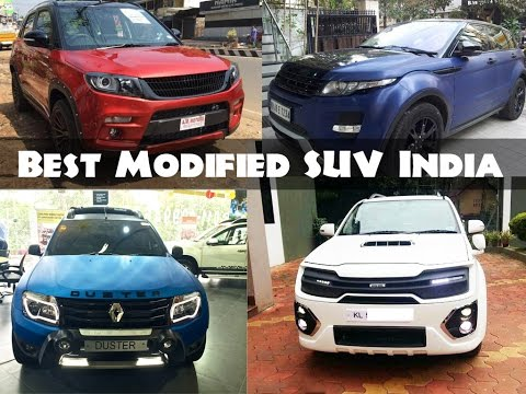 All Time Best Modified SUV Cars In India
