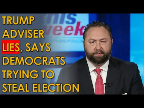 "Jason Miller LIES, says Trump will Win and Democrats will ""steal it back after the election"""