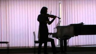 G.F. Handel. Sonata D-dur major, Op.1 No.13, HWV 371. Indira Pinchuk (02.12.14)