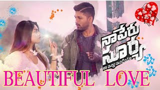 Beautiful Love Lyrical whatsapp status Video | Naa Peru Surya Naa Illu India Songs | Allu Arjun,