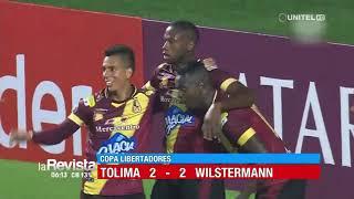 Copa Libertadores: Tolima 2 – 2 Wilstermann
