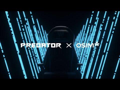 Predator電競按摩椅-OSIM聯名款