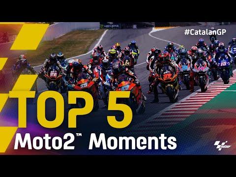 Moto2 2021 カタルニアGP 決勝レースのハイライト動画