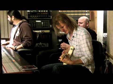Stoney Curtis recording at Prairie Sun Recording