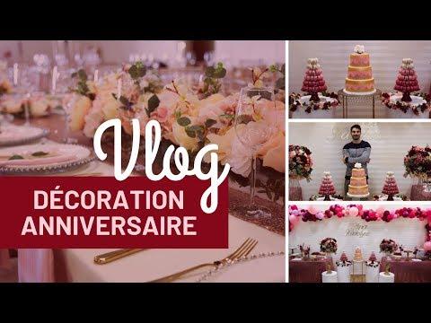 Vlog Décoration Anniversaire ♡ 24h avec un Décorateur événementiel