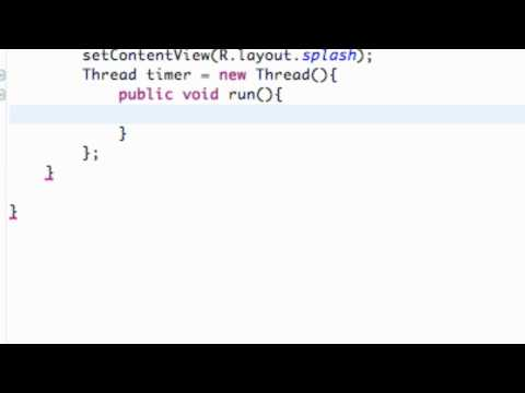 Android Application Development Tutorial - 14 - The Framework of a Thread