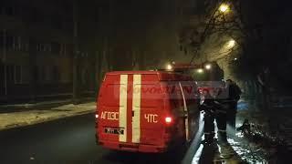 Ночью в центре Николаева горело старое здание муниципального коллегиума